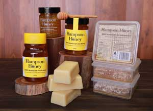 Hampson Honey offers a range of honey products
